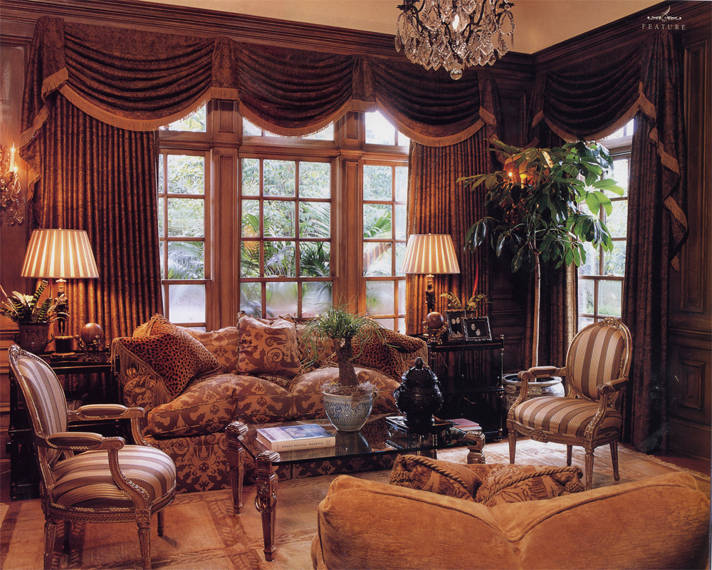 William r eubanks interior design and antiques press regency redux - English style interior design rigor and comfort ...