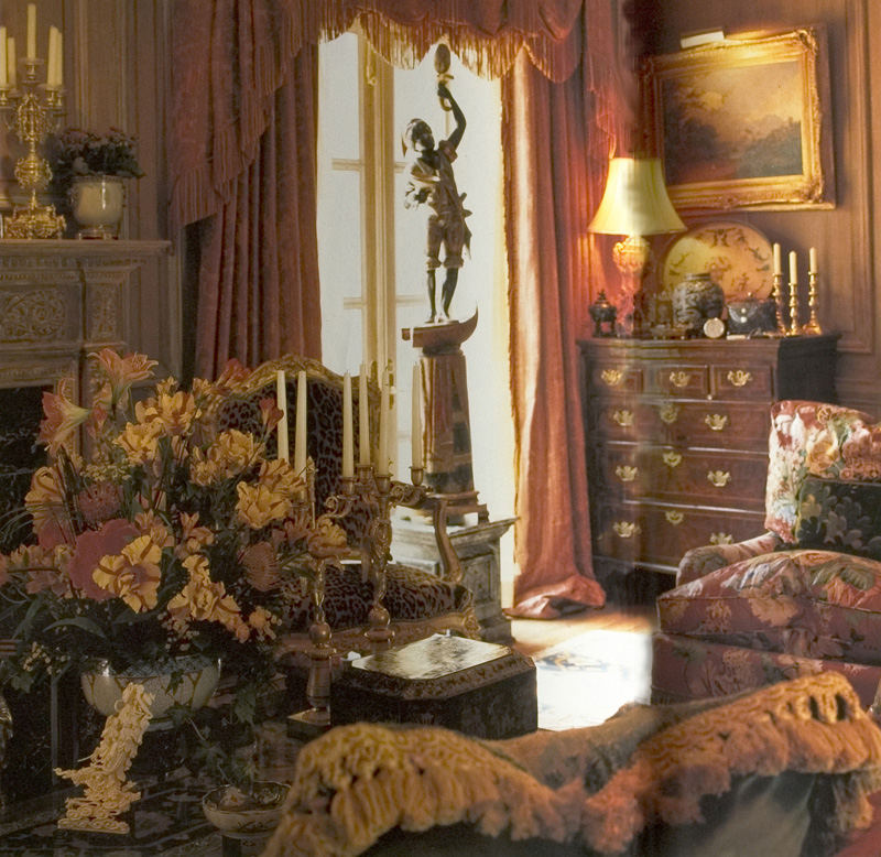 William r eubanks interior design and antiques press