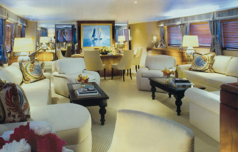 ... Make A Grandly Decorated House   Or, For That Matter, A Sleekly Styled  Yacht   Into A Home. Yet Interior Designers William R. Eubanks And David  Mitchell ...